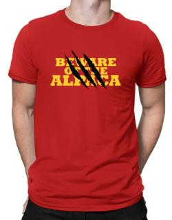 Beware Of The Alpaca Men T-Shirt