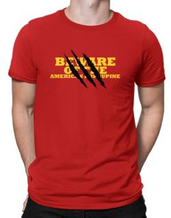 Beware Of The American Porcupine Men T-Shirt