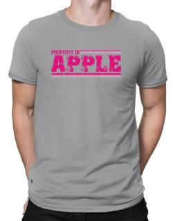 Property Of Apple - Vintage Men T-Shirt