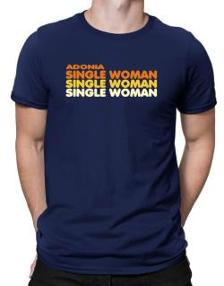 Adonia Single Woman Men T-Shirt