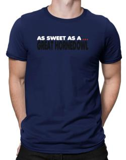 As Sweet As A Great Horned Owl Men T-Shirt