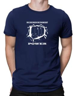 Nichiren Buddhist Power Men T-Shirt