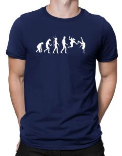 Capoeira evolution 3 Men T-Shirt