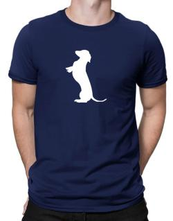 Begging Dachshund Men T-Shirt