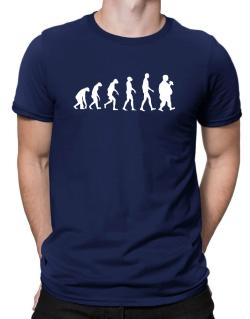 Fat Man Evolution 2 Men T-Shirt