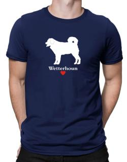 Wetterhoun love Men T-Shirt