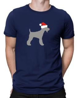 Fox Terrier christmas Men T-Shirt