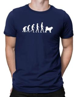 Wetterhoun evolution Men T-Shirt
