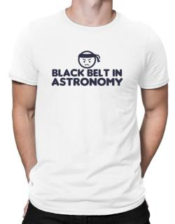 Black Belt In Astronomy Men T-Shirt