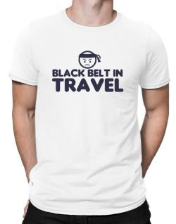 Black Belt In Travel Men T-Shirt
