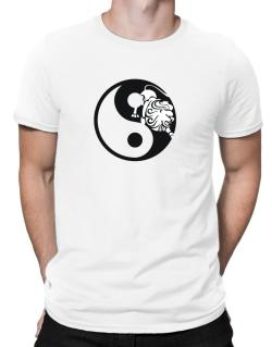 Yin Yang Leo Men T-Shirt