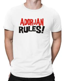 Adorjan Rules! Men T-Shirt