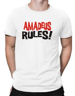 Amadeus Rules! Men T-Shirt