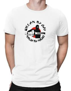 Wiccan By Day, Ninja By Night Men T-Shirt