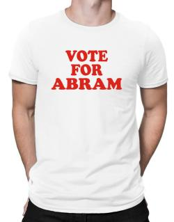 Vote For Abram Men T-Shirt