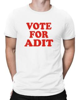 Vote For Adit Men T-Shirt