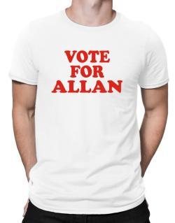 Vote For Allan Men T-Shirt