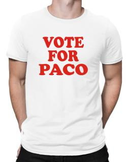 a113ab93ac33dc Vote For Paco Men T-Shirt