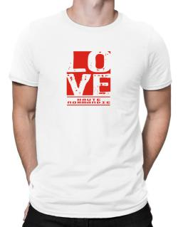 Love Haute-Normandie Men T-Shirt