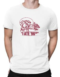 I ate 96er outdoors Men T-Shirt