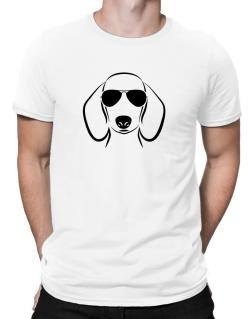 Dachshund Sunglasses Men T-Shirt
