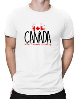 Canada my favorite country Men T-Shirt