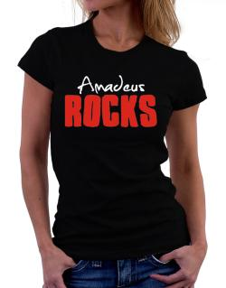 Amadeus Rocks Women T-Shirt