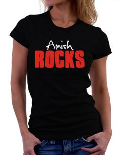 Amish Rocks Women T-Shirt
