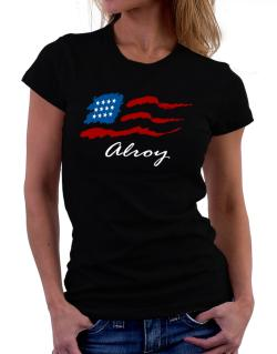 Alroy - Us Flag Women T-Shirt