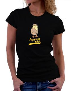 Aquarius Chick Women T-Shirt
