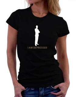 I Am Depressed - Male Women T-Shirt