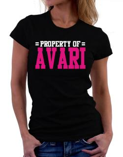 Property Of Avari Women T-Shirt