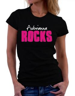Aubrianna Rocks Women T-Shirt