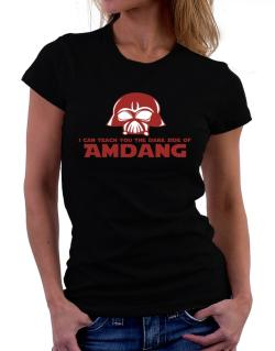 I Can Teach You The Dark Side Of Amdang Women T-Shirt
