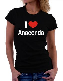 I Love Anaconda Women T-Shirt