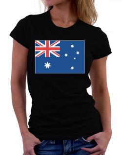 Australia Flag Women T-Shirt