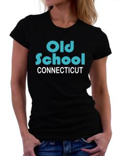 Old School Connecticut Women T-Shirt