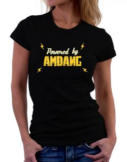 Powered By Amdang Women T-Shirt