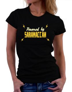 Powered By Saramaccan Women T-Shirt