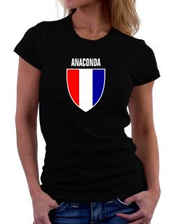 Anaconda Escudo Usa Women T-Shirt