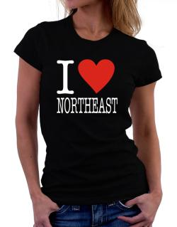I Love Northeast Women T-Shirt