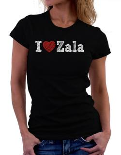 I love Zala Women T-Shirt