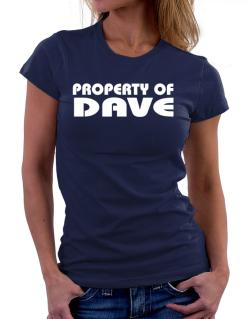 "Polo de Dama de "" Property of Dave """
