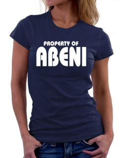 Property Of Abeni Women T-Shirt