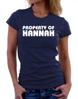 Polo de Dama de Property Of Hannah