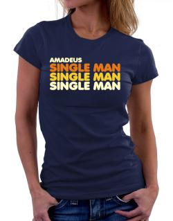 Amadeus Single Man Women T-Shirt