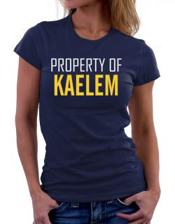 Property Of Kaelem Women T-Shirt