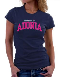 Property Of Adonia Women T-Shirt