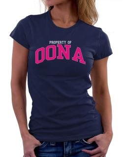 Property Of Oona Women T-Shirt