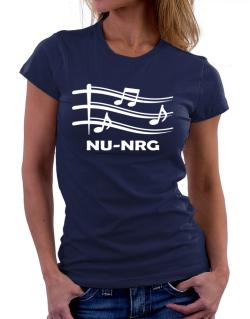 Nu Nrg - Musical Notes Women T-Shirt